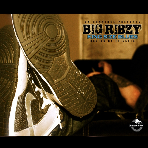 Big Ribzy - King Size Blues (Front Cover) 500