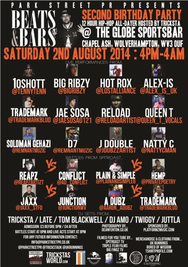 beats & bars poster BluePrint 900